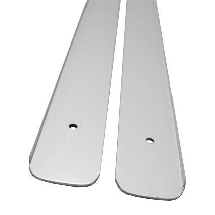 bočná hliníková lišta k spojeniu a zakončeniu kuchynskej pracovnej dosky hr.28mm