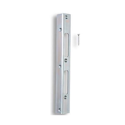 zapadací protiplech dveřní K 195 bezpečnostní, pro jednokřídlé dveře, zesílený