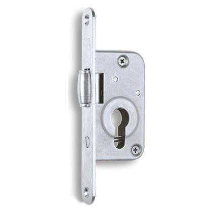 zadlabávací dverný zámok s valčekom Hobes G233