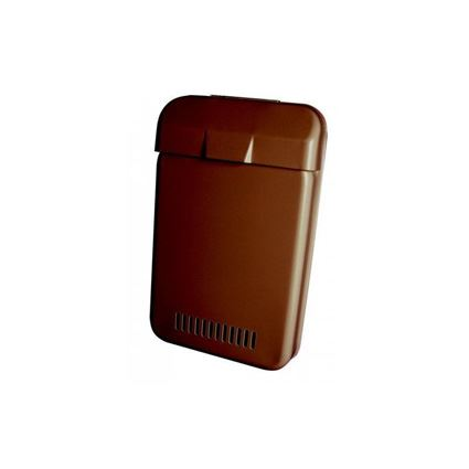 poštovní schránka EBAS 215x350x40mm kovová hnědá