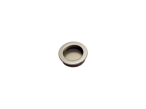 nábytková úchytka kovová do posuvných dverí, zápustné guľaté madlo TS11, priemer 35mm