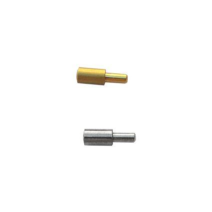 nábytková policová podpierka kovová, do dierky 3mm, vonkajší priemer 5mm