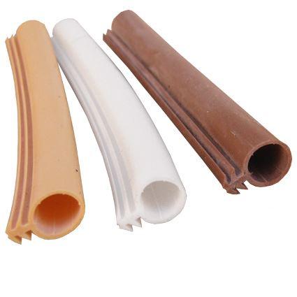 silikonová těsnící páska do frézované drážky s trnem Sillen B3, na dveře a okna, průměr 10mm