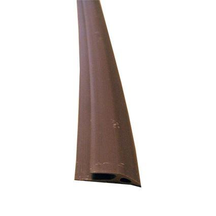 samolepící zakončovací profil na koberce z měkčeného PVC, šíře 30mm, délka 1m
