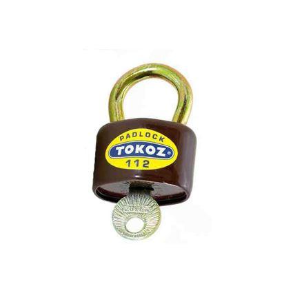visiaci zámok TOKOZ 112/45, pre vonkajšie prostredie, 3 kľúče