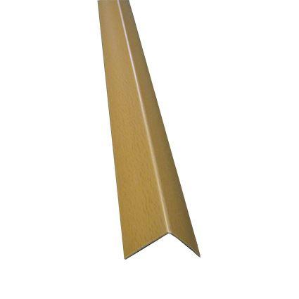 plastová ochrana rohu stěny proti poškození k nalepení, roh 40x40mm, délka 2,75m