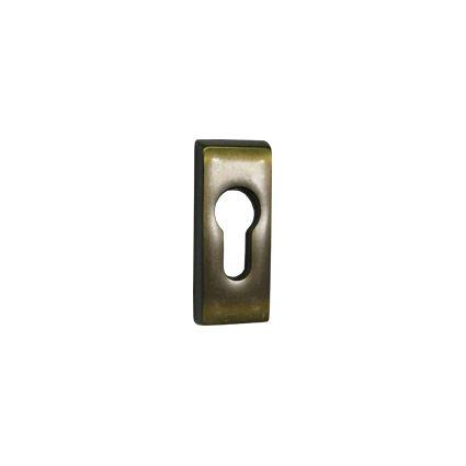 bezpečnostní kování na dveře, zesílená rozeta pro bezpečnostní vložku, 1 kus